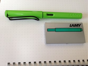 Lamy safari inc cartridge 1209202155