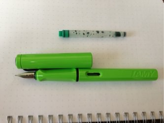 Lamy safari inc green 1209202147