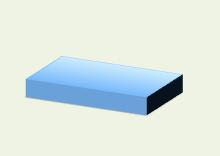 powerpoint-3D図形-直方体