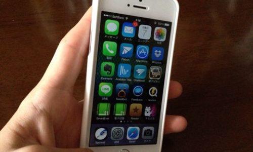 iphoneのTPUケース